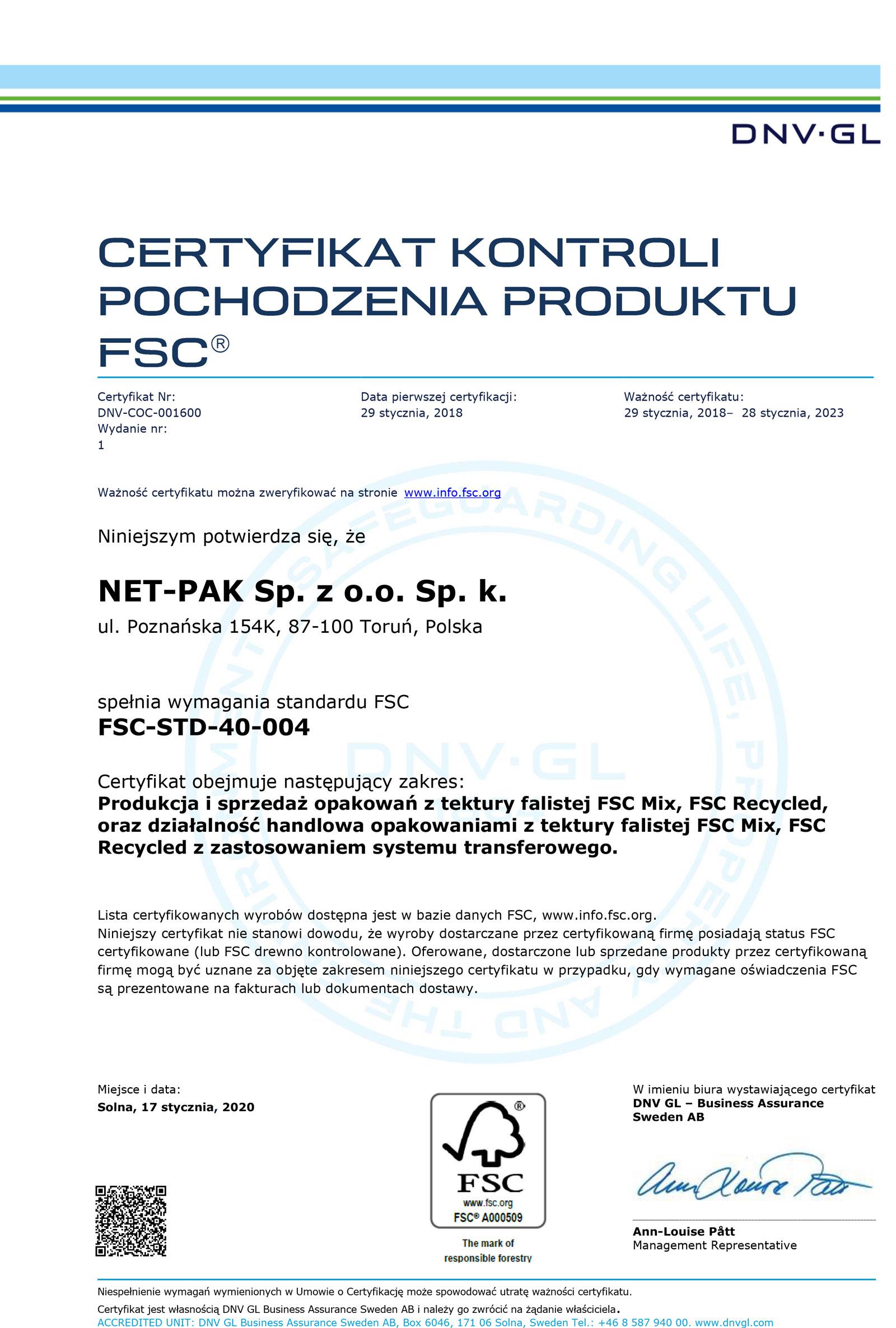 Certyfikat-FSC